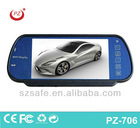good selling car mp5 player with bluetooth rear view mirror