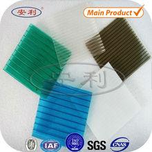 NO Deformation transparent polycarbonate plastic roof