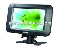 2014 portable tv player with DVB-T/DVB-T2/ISDB-T tuner