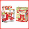 Big Kitchen kids cooking play set toys Kids Play Pretend toy kitchen set