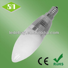 3w 4w CANDLE e12 e14 e17 led ceiling candle lighting 4w