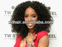 2013 top quality brazilian kinky curly full lace wig