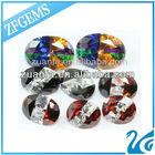 fashion crushed zirconia synthetic gemstone