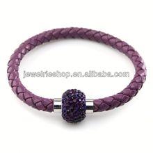 Leopard Crystal Bracelet Leather Bracelets With Cross Baby Bracelets Silver