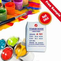 anatase titanium dioxide A101 high whiteness primer color pigment raw materials