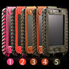 Hot Selling Wallet Case For iPhone 5 5S 5C Genuine Leather
