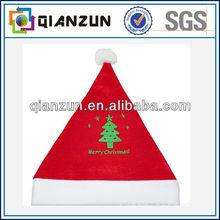 Cap Factory Wholesale Santa Hat/cap, Christmas Santa Hat,Red Christmas Hat