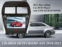 2013 new arrival tough screen car radio for MITSUBISHI ASX 2010-2012/PEUGEOT/CITROEN C4 with buletooth/ipod car dvd gps