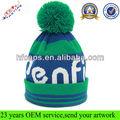 özel jakarlı Bere/akrilik bere/bere şapka üst top