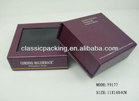 2013 new style clear hinged lid plastic boxes, clear window boxes,free sample printing paper box