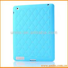 Luxury Bling Diamond Silicone Case For iPad 3 2