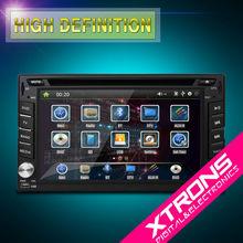 "TD606GT: 6.2"" Double Din Car Radio with GPS DVD"