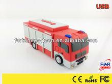 Fire truck usb custom shape