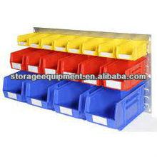 High quality plastic box wall mount/parts bin box