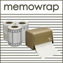 Stylish stationery item memo pad note music design cute