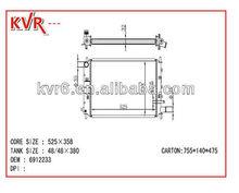 auto spare parts high quality car radiator for FORD ESCORT / ORION 1.6/1.8/2.0 EFI 90-00 OE No 6912233