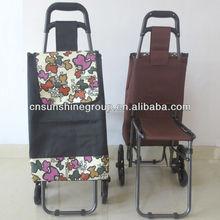 Storage cart,foldable frame shopping cart.