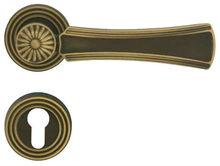 Antique bronze door handles