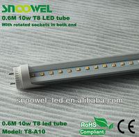 2013 China factory smd2835 led 0.6m t810w japanese tube japan tube jp tu