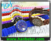 Hotselling watches with different color silicone strap with 15 colors and 6 styles available