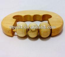 Wooden massage roller / wooden massager / wooden hand massager