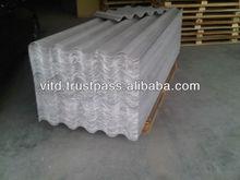 Non amiante ciment tole de toiture avec technologie numero un du Japon