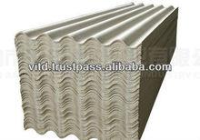 Non amiante corrugated ciment tole de toiture