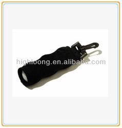 Waterproof Black Golf Ball Holder Bag