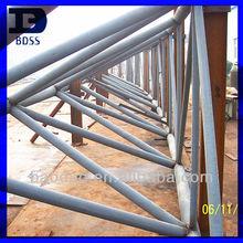 light weight prefab structural steel truss roof