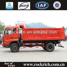 4X2 Dump Truck Loading Capacity With Cummins Euro 3
