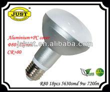 R80 LED bulb lamp E27 10W