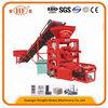 QTJ4-26D platform mould vibration brick making machine,precast concrete machine,retaining wall concrete blocks