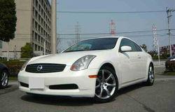 2004-Nissan Skyline Coupe UA-CPV35/ GT (White)