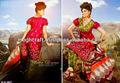 Designer Punjabi costume matériau - imprimé coton matériel robe - gros salwar kameez - vrac matériel robe @ USD 12.00
