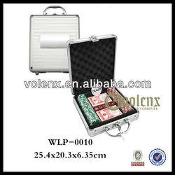 Aluminum Case Shenzhen Poker Chip Set with Roulette Wholesale(SGS & BV )