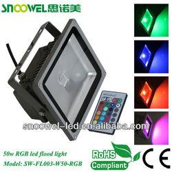 2013 China factory 50W RF RGB led flood light with ce&rohs
