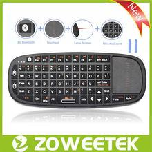 Ultra Wireless Mini Bluetooth Keyboard with Touchpad for iPad/iPhone