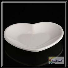 hotsales melamine heart plates