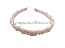 New!!!2014 Fall&Winter bride flower with pearls hairband /headband/hair accessories
