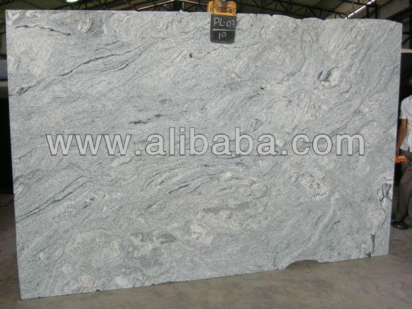 Glacier White Granite Kitchen