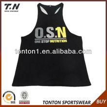 2013 Wholesale Custom Oem Men's Fashion Gym Singlets
