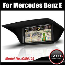 "OEM 7"" in dash double din auto multimedia gps navigation head unit for mercedes benz E220 CDI"