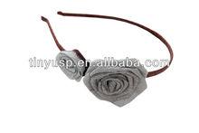 Fall & Winter rose flower hair band/headband/hair accessories