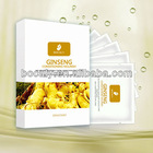 Skin care anti wrinkle collagen gold face mask/gold facial mask( HOT ! )