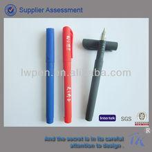 Grip Rubber Coating Metal color roller ball pen