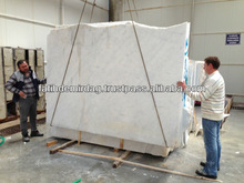 White Marble - Raw-cut (Rough) Slab - production
