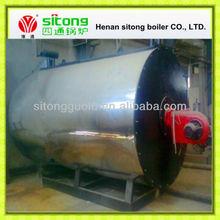 Industrial thermal oil boiler hot oil circulation