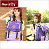 high quality cheap colors for school girl solar laptop bag