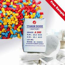 titanium dioxide anatase cystal nano particle size a300, high tio2 content 99.2%, no strach fiber applied