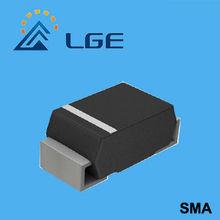 1W 6.2V SMD zener diodes 5% tolerance